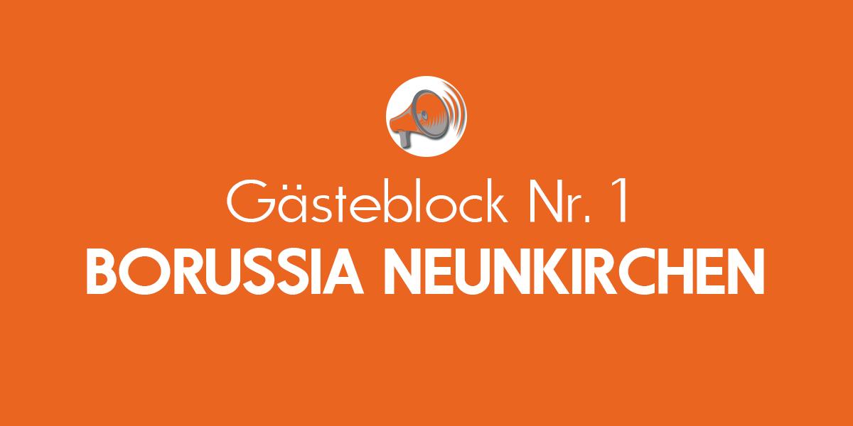 #16   Gästeblock – Borussia Neunkirchen