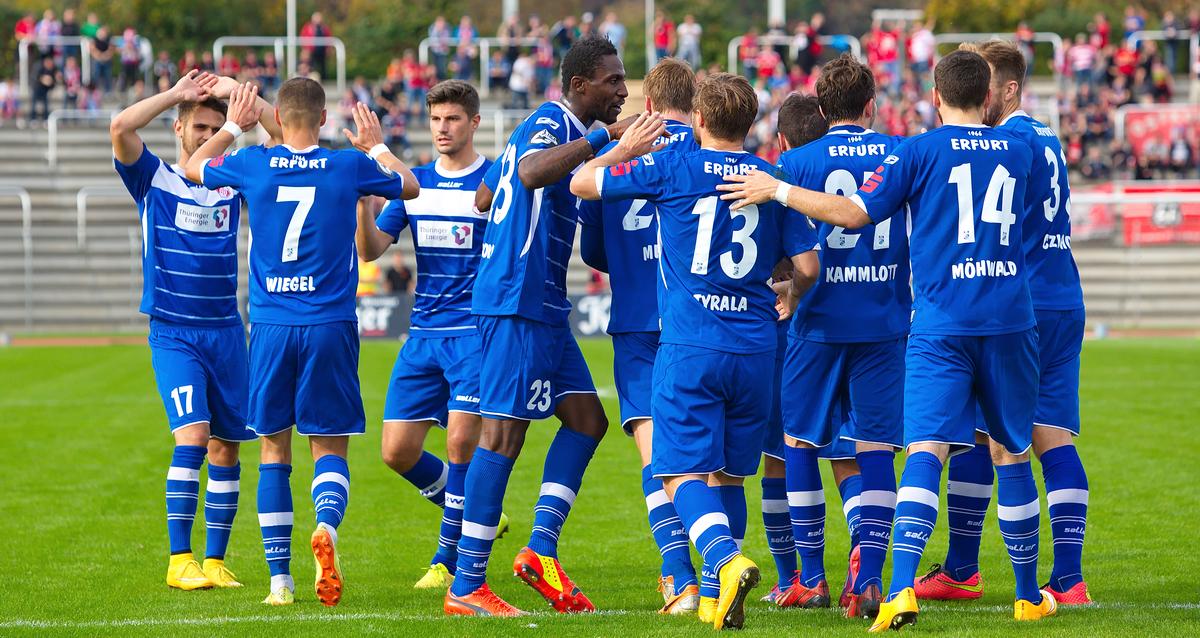 #19   Gästeblock – FC Rot-Weiß Erfurt